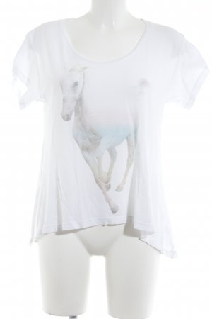 Wildfox Print-Shirt Motivdruck Animal-Look