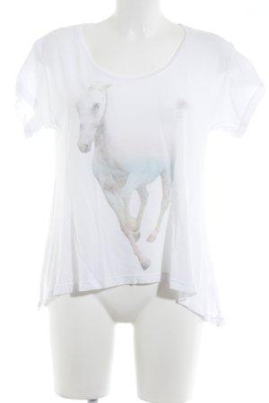 Wildfox Print-Shirt Motivdruck Animal-Look