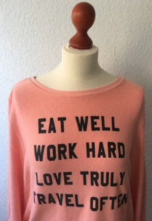Wildfox Pullover in aprikot