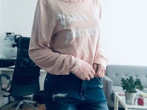 Wildfox Pullover rosa XS