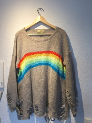 Wildfox Rainbow strickpullver
