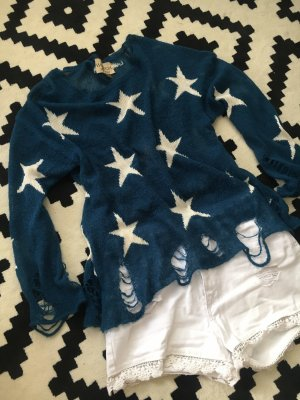 Wildfox Seeing Stars Sweater Strickpullover casual look