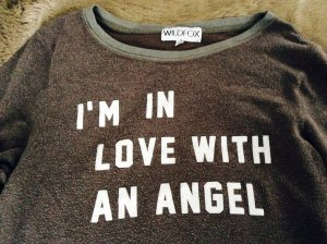 ❤️WILDFOX SWEATSHIRT I AM IN LOVE WITH AN ANGEL❤️❤️