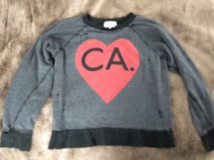 ❤️❤️WILDFOX Sweatshirt New York California ❤️❤️