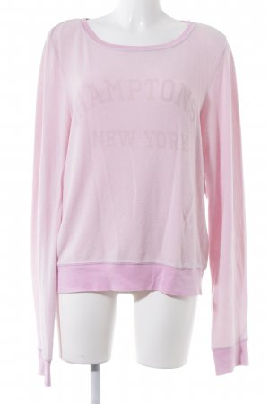 Wildfox Sweatshirt rosa Casual-Look