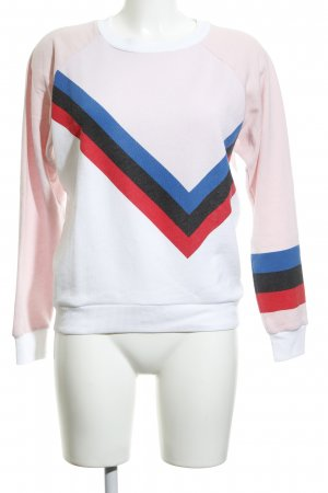 Wildfox Sweatshirt Streifenmuster Casual-Look