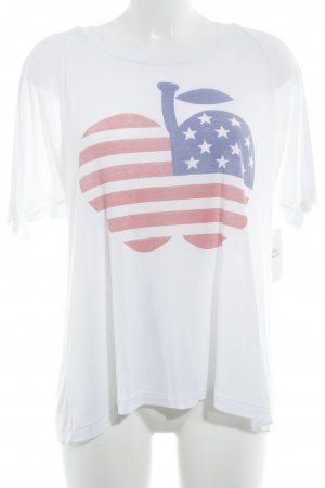 Wildfox T-Shirt Sternenmuster Casual-Look