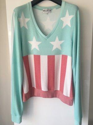 Wildfox: Vintage-Sweatshirt, M