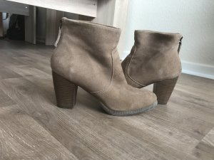 Wildleder Ankle Boots von 5th Avenue, Gr. 39