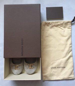 Louis Vuitton Ballerines pliables crème
