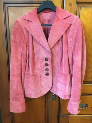 Wildleder-Blazer, Betty Barclay, koralle, Gr. 38