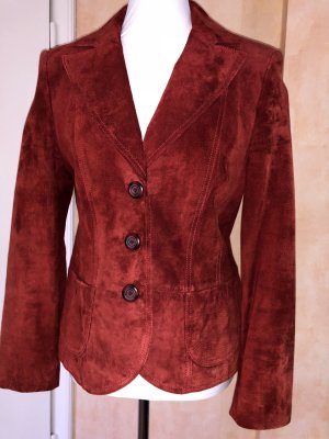 Gerry Weber Blazer in pelle carminio-ruggine