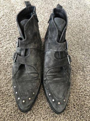 Wildleder Boots billi bi Copenhagen Gr 40