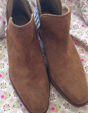 Wildleder Boots Boho Style