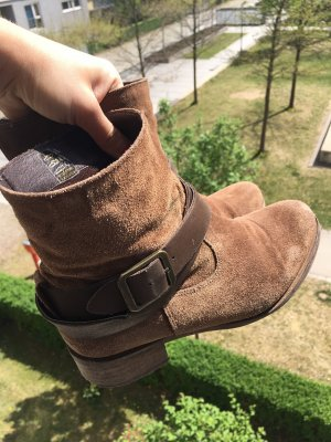 Chelsea Boots brown-light brown suede