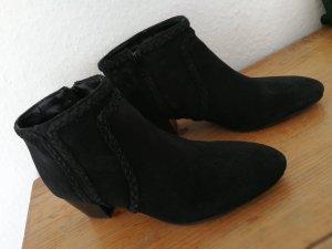 Wildleder Boots Leder schwarz 39 promod