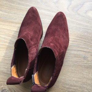 Wildleder Boots Zara, neu