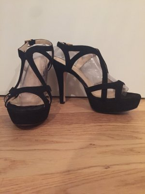 Wildleder High Heels Gr. 38