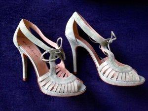 Wildleder High Heels /Sandaletten in Gr. 37, neu & ungetragen, von Mai Piu Senza