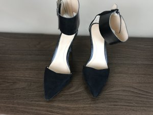 Wildleder Highheels in schwarz