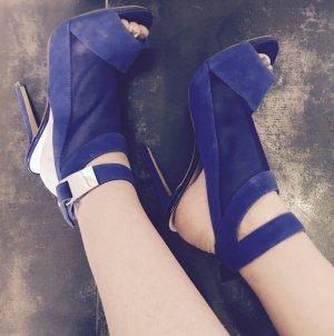Guess Sandalias de tacón azul