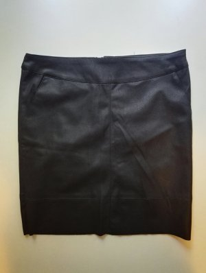 Only Faux Leather Skirt black