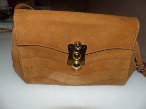 Hotic Crossbody bag cognac-coloured leather