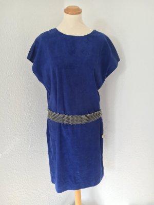 Jimmy Choo for H&M Leren jurk blauw