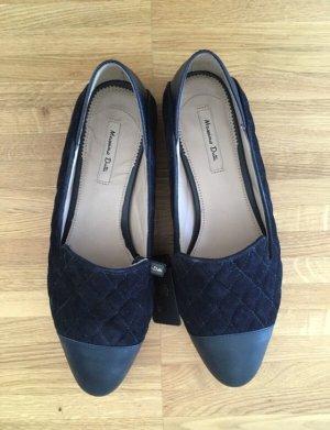 Wildleder Loafer von Massimo Dutti
