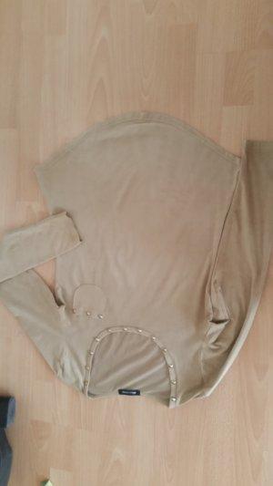 Wildleder Optik Langarmshirt