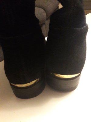 Michael Kors Stivale cuissard nero-oro