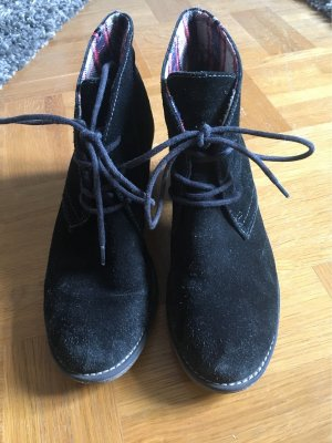 s.Oliver Tacones de plataforma negro-marrón grisáceo