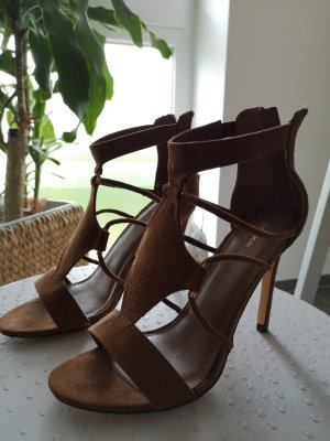Pimkie High Heel Sandal sand brown-bronze-colored