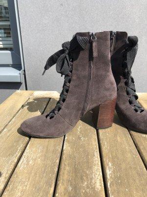 Wildleder Schnür Boots gr 39