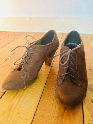 Lace-up Pumps brown-light brown