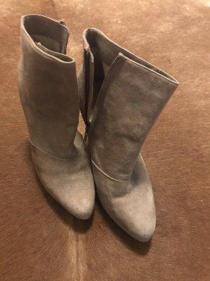 Wildleder Schuhe Beige *neu