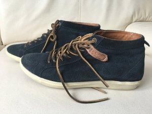 Napapijri Boots dark blue-dark orange