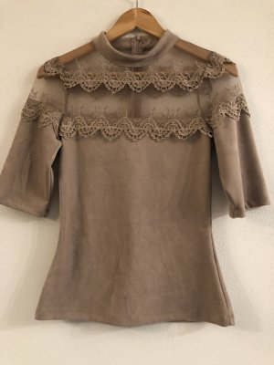 Dickey (for blouse) light brown