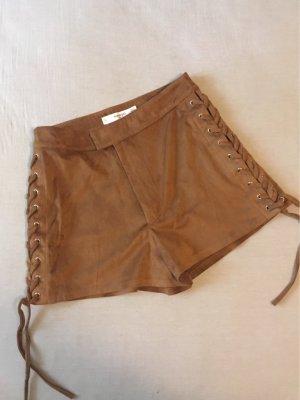 Wildleder-Shorts