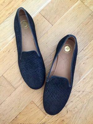 Wildleder Slipper/Loafer von Hudson Größe 38-39