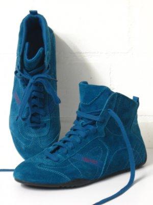Wildleder-Sneaker, neuwertig