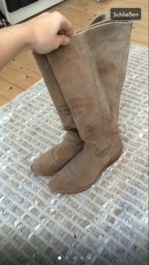 Wildleder Stiefel Cowboy-/Gouchostyle