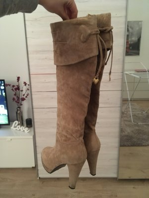 Wildleder Stiefel High Heels