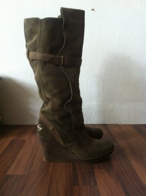 Wildleder Stiefel REPLAY Wedges