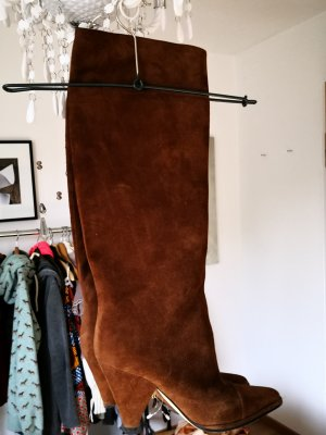 Sergio Rossi Jackboots brown-cognac-coloured
