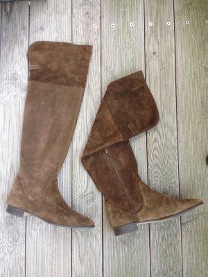 Wildleder-Stiefel, soft, kaum getragen