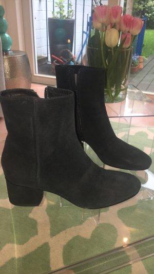 Laarzen zwart-donkergroen