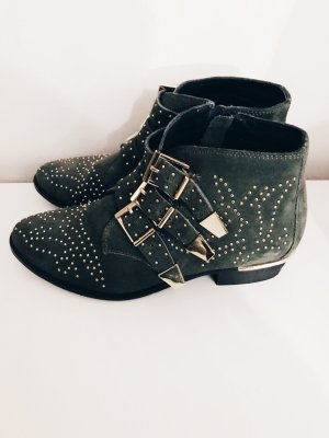 Onygo Low boot gris vert-kaki