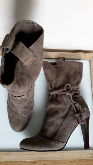 Apart Slip-on Booties grey-grey brown