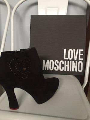 Love Moschino Plateauzool laarsjes zwart